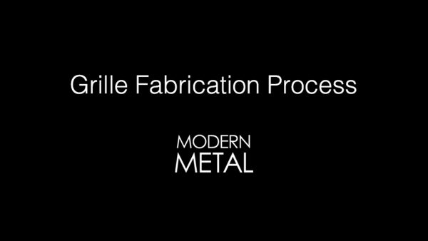 Grille Fabrication Process video thumbnail